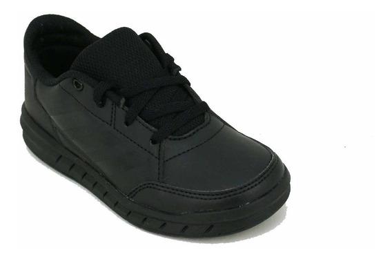 Zapatilla adidas Altasport Cordon Negro Niño Deporfan