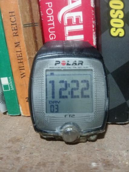 Relógio Polar Ft2 Usado Sem Pulseira Ver Fotos No Estado Ler