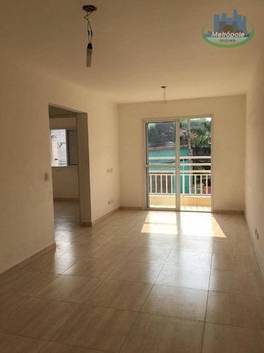 Apartamento Com 2 Dormitórios, 50 M² - Venda Por R$ 219.000,00 Ou Aluguel Por R$ 1.150,00/mês - Centro - Guarulhos/sp - Ap1089
