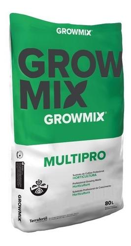 Sustrato Profesional Growmix Multipro Terrafertil 80lts