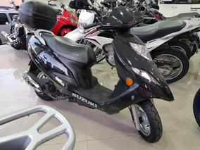 Suzuki Burgman 125i 2012 Preta 26000 Km
