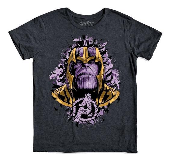 Mad Titan Playera Avengers Endgame Marvel Máscara De Látex