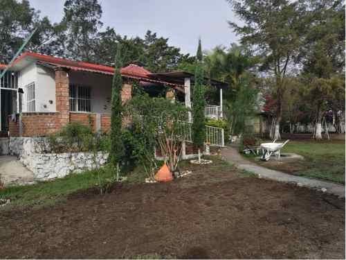 Terreno Con Casa De Campo En Berriozábal, Chiapas.