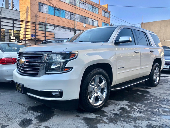 Chevrolet Tahoe Ltz 4x4 2015 V8 5.3 Astos Capitan Blu Ray