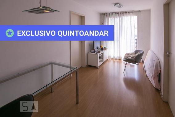 Apartamento No 8º Andar Mobiliado Com 1 Dormitório E 1 Garagem - Id: 892982887 - 282887