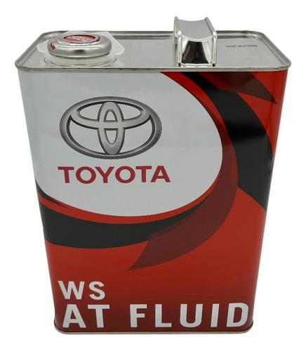 Aceite Atf Ws Para Toyota Etios Caja Automatica 2013-2021