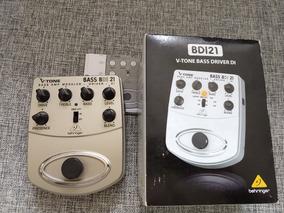 Pedal Pré Amp V-tone Bass Behringer Bdi21 Na Caixa