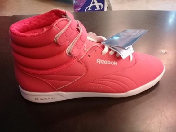 Zapatillas Reebok Botitas Freestyle Ultralite Para Dama