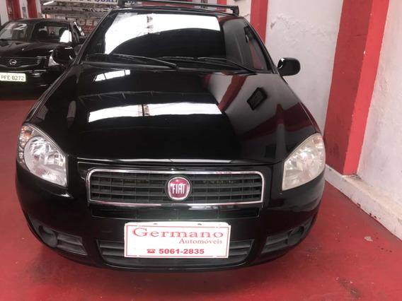Fiat Siena El 1.0 Preto 2011/2012