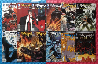 12 Comics Batman Eternal 10 14 15 25 27 31 33 35 37 41 48 51