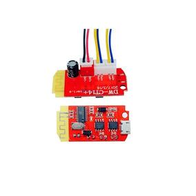 Amplificador De Som Áudio C/ Bluetooth 2 X 3w X 5v - Cód.148
