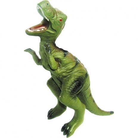 Dinossauro Tiranossauro De Borracha E Macio Jurassic Enfeite