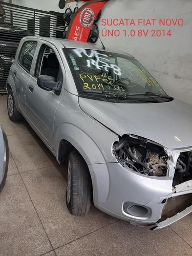 Sucata Fiat Novo Uno 1.0 8 V 2014/2014