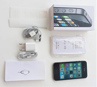 iPhone 4s Preto 8 Gb + Pelicula + Capa