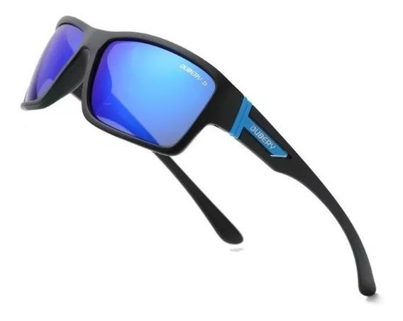 Lentes Dubery Polarizado Azul Uv400 Moda Verano + Accesorios