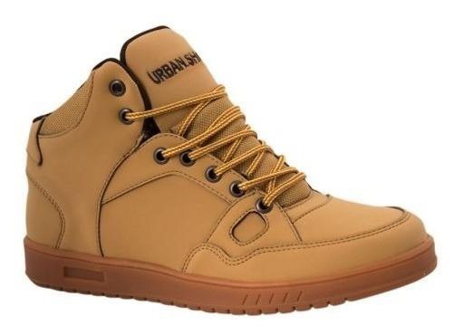 Tenis Casual Bota Urban Shoes 8104 Id 160600 Miel Hombre