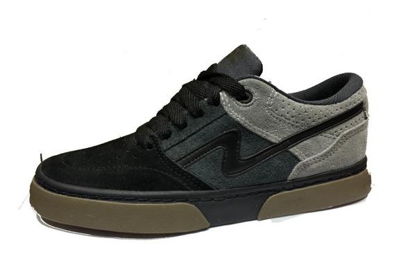 Zapatillas Urbanas/skater Spiral Shoes Pow 2020 Negro/gris