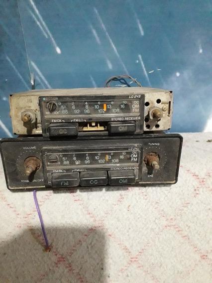 Rádio Automotivo Antigo Boch E Outro(sucatas)