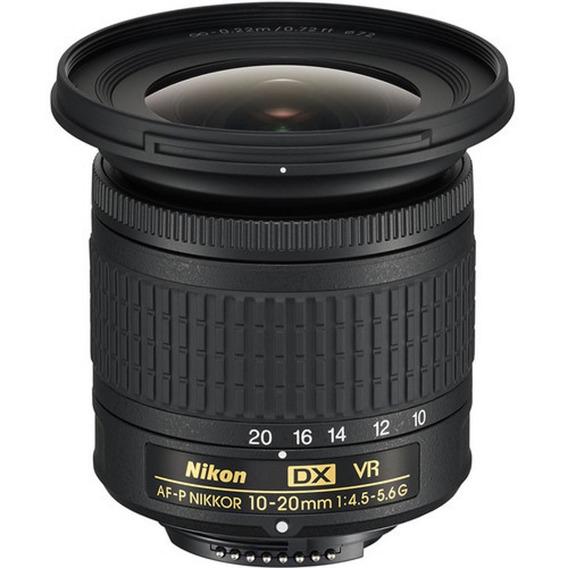 Lente Nikon Af-p Dx 10-20mm F/4.5-5.6g Vr - Loja Platinum