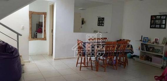 Casa Com 3 Dormitórios À Venda, 121 M² Por R$ 570.000 - Engenho Do Mato - Niterói/rj - Ca1153