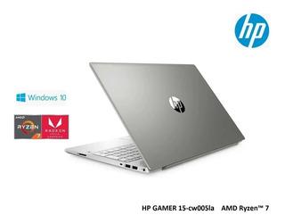 Laptop Hp 15-cw1005la Ryzen-7 16ram Ssd128gb+1tb 15.6ips W10
