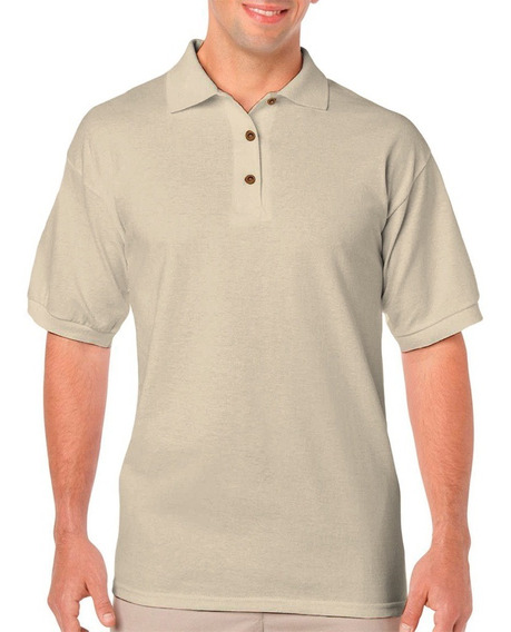 Playera Tipo Polo Ultra Cotton Para Caballero National Style