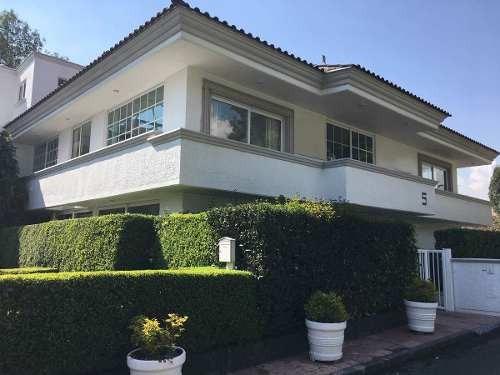 Casa En Venta En Club De Golf Chapultepec