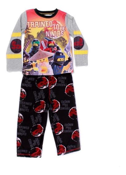 Pijama Lego Para Niño De Ninjago Spinjitzu Naranja Y Negro