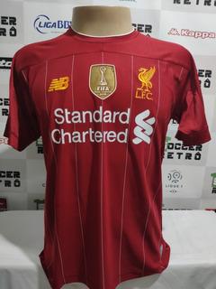 Camisa Liverpool 2019-20 Virgil 4 Premier League