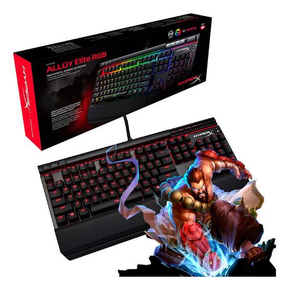 Teclado Gamer Kingston Hyperx Alloy Elite Mecanico Cherry Mx