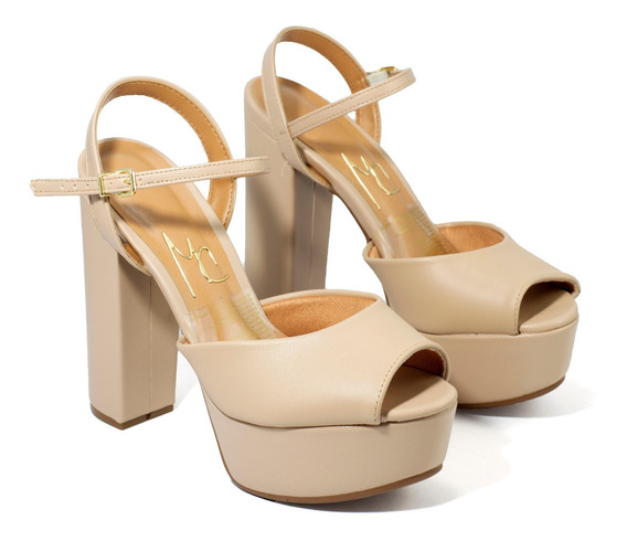 Zapatos Mujer Sandalias Taco Alto Plataforma Massimo Vizzano