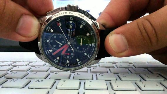 Pulseira De Borracha Pneu Para Relógio Chopard 23 E 24 Mm