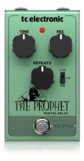 Pedal Para Guitarra Tc Electronics The Prophet Digital Delay