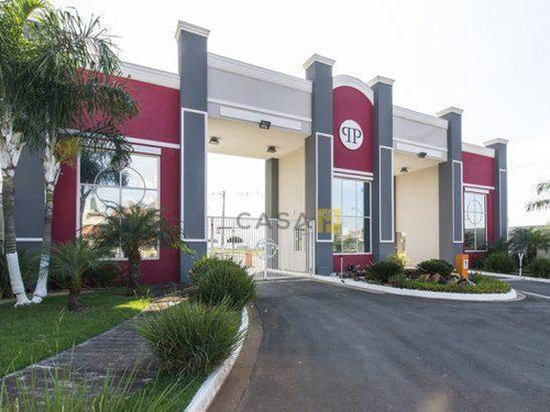 Terreno À Venda, 450 M² Por R$ 310.000,00 - Condomínio Phillipson Park - Americana/sp - Te0472