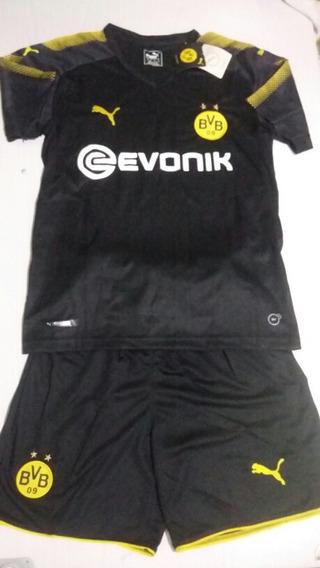 Conjuntos De Clubes De Futebol Camisa E Short Padrao Oficial