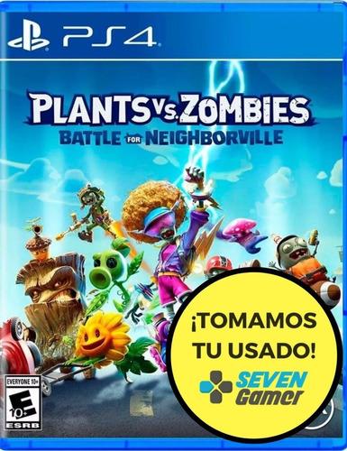 Imagen 1 de 8 de Plantas Vs Zombies Battle For Neighborville Ps4 Juego Fisico