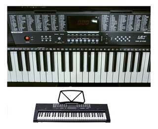 Teclado Mk-2102 Pantalla Led De Teclado De Piano De 61 Tecla