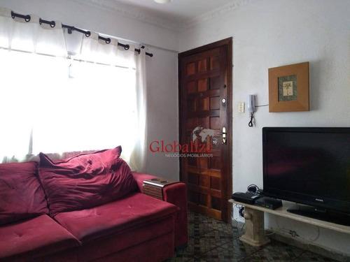 Imagem 1 de 20 de Apartamento À Venda, 45 M² Por R$ 205.000,00 - Aparecida - Santos/sp - Ap0805