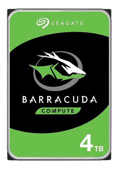 Disco Duro De 4tb Interno Seagate Barracuda Sata 3.5