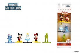 Nano Metalfigs Disney Pack A