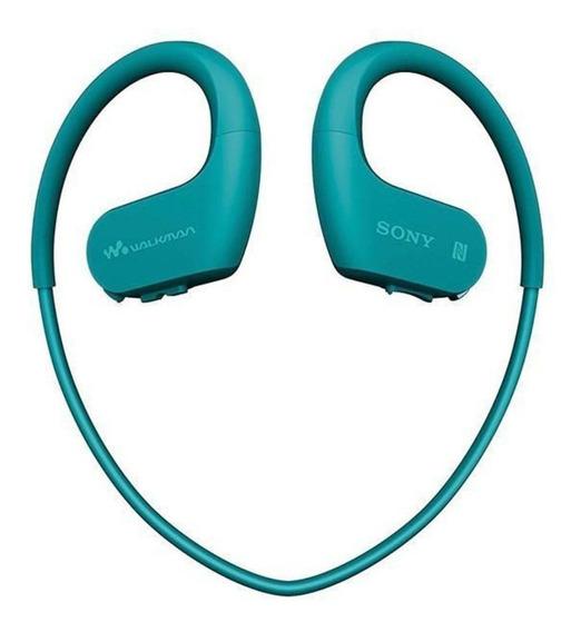 Mp3 Player Sony Nw-ws623 Ws623 4gb Walkman Bluetooth Azul