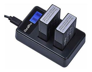 Cargador + 2 Bateria P/ Canon Lp-e17 T6i T6s T7i 77d 760d