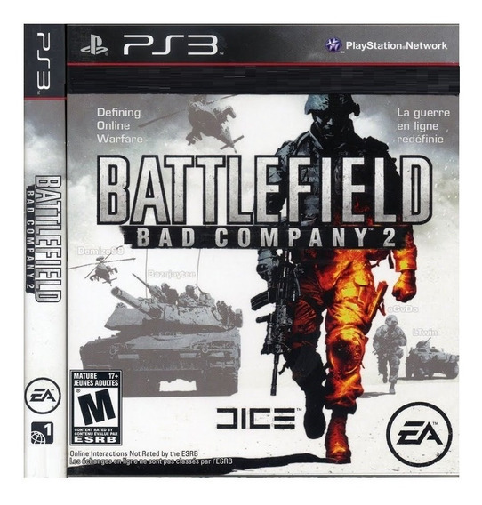 Battlefield Bad Company 2 Ps3 Psn Game Battlefield Play 3