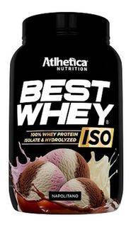 Best Whey® Iso 900g Atlhetica Nutrition Hidrolisado Isolado