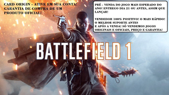 Battlefield 1 Standard Origin Cd Key Original