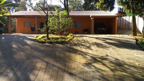Imagem 1 de 14 de Chácara Com 2 Dormitórios À Venda, 1350 M² Por R$ 350.000,00 - Colonial Ii - Araçoiaba Da Serra/sp - Ch0070