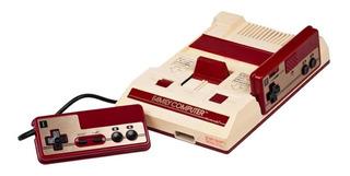 Nintendo Family Computer blanco y rojo