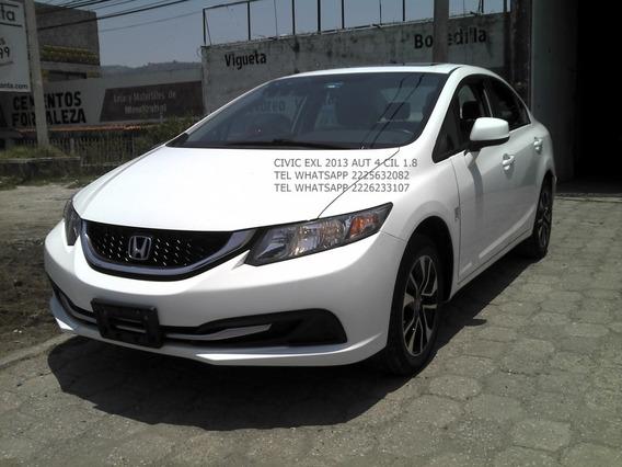 Honda Civic 2013 Exl Navy 4 Cil Eng $ 33,600
