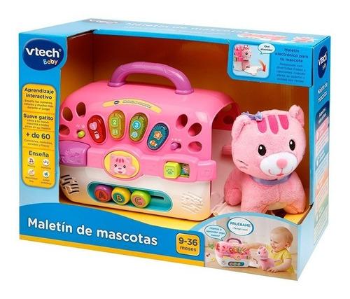 Vtech Maletin De Mascota Rosa 80191557