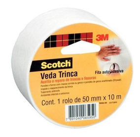 Fita Veda Trinca Scocth 3m, 50mm X 10m